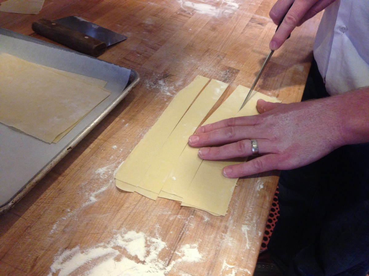 Becoming a Pasta Maker ((Napa part 4))